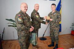 Działalność mandatowa PKW EUFOR 14